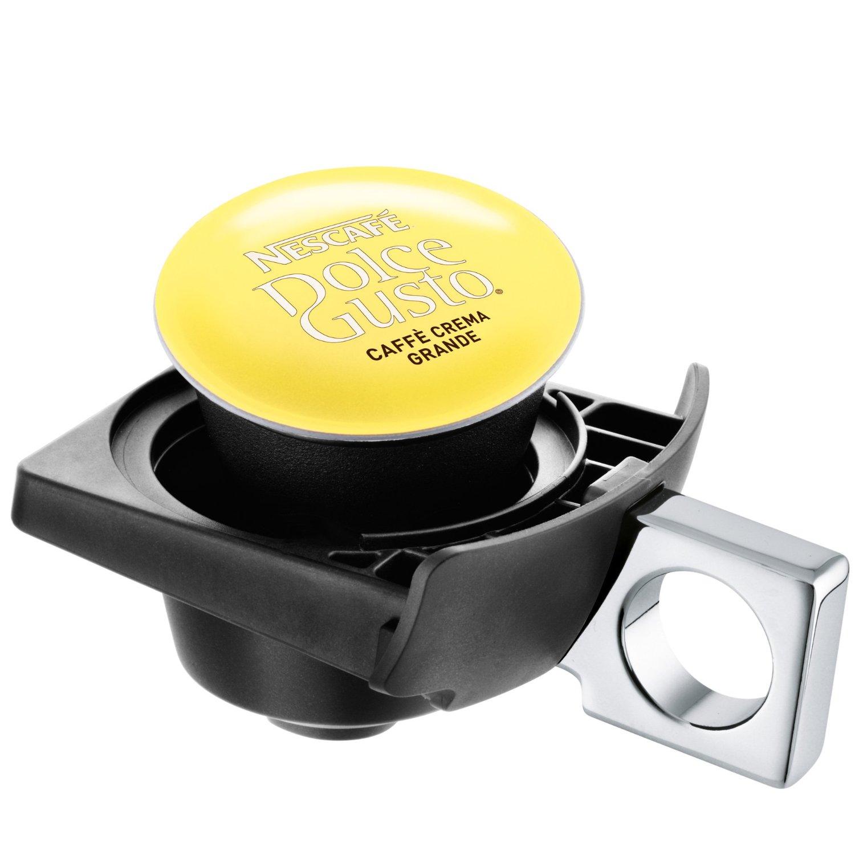 krups kapselmaschine anthrazit kp 100b nescafe dolce gusto piccolo kapsel neu ebay. Black Bedroom Furniture Sets. Home Design Ideas