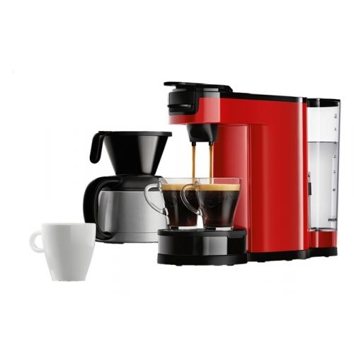 philips hd7892 60 switch red kaffeemaschine f r filter und pads kaffee neuware ebay. Black Bedroom Furniture Sets. Home Design Ideas
