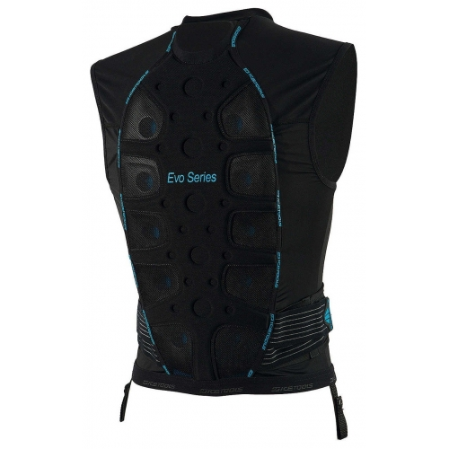 icetools s evo shield r ckenprotektor ski men black blue. Black Bedroom Furniture Sets. Home Design Ideas