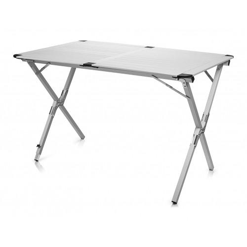 Détails sur Campart Roll-Up Table en Aluminium Texas TA-0802 Jardin de  Balcon Pliante